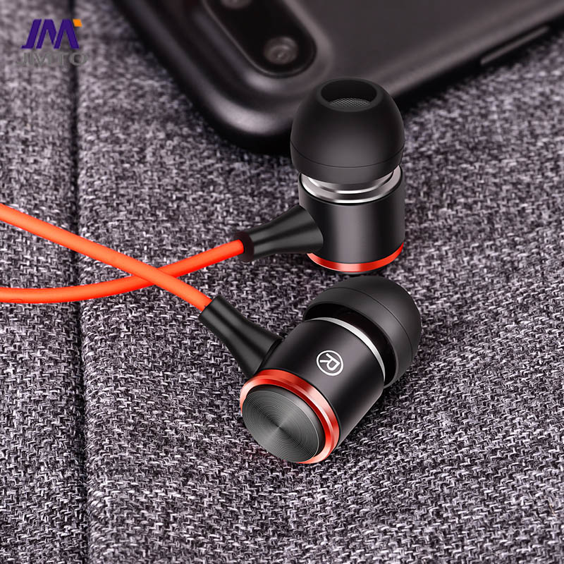 3 meters cord wired earphone with mic