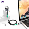 USB Type-C To Type C Cable USB3.1 Cable2 in 1 for Mobile hard disk